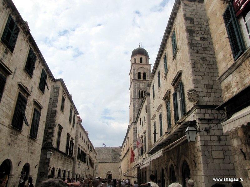 Знаменитая улица Дубровника