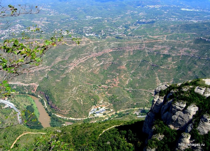 Вид с вершины Монсерат