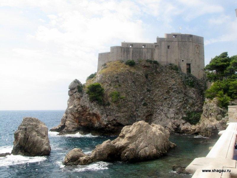 Крепость Ловрьенац Дубровник