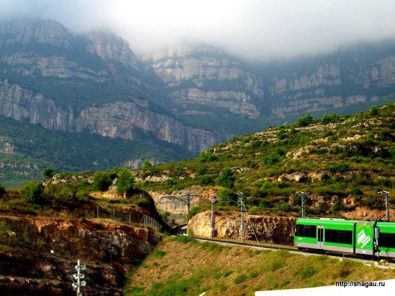 Поезд на гору Монсеррат