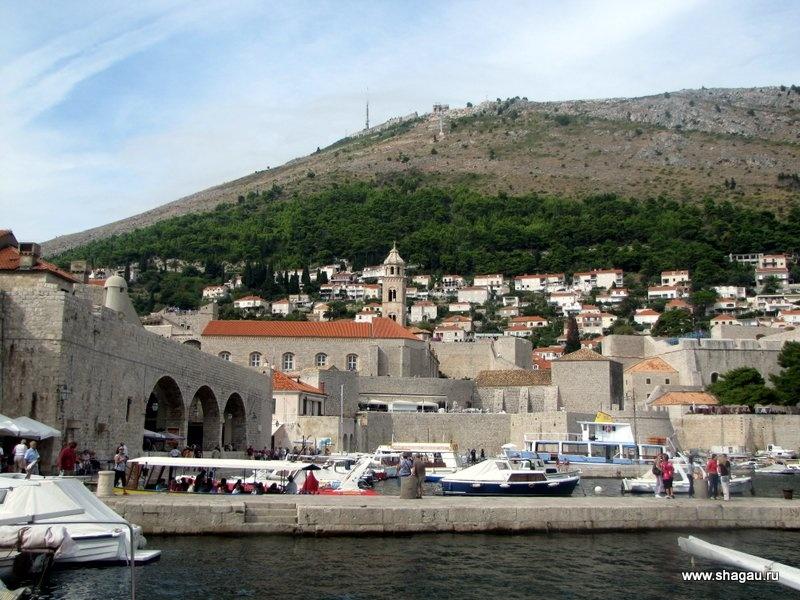 Морской порт Дубровник