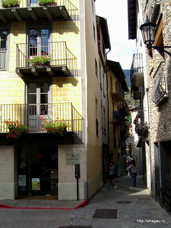 Средневековые улицы Андорры