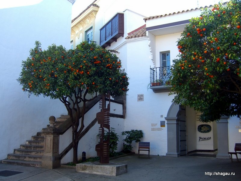 Копия домов Андалусии в Испанской деревне