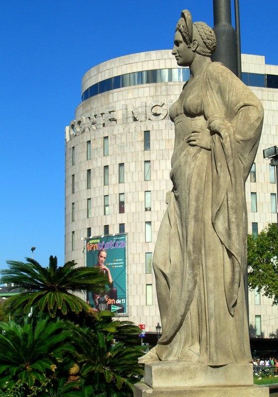 Торговый центр в Барселоне