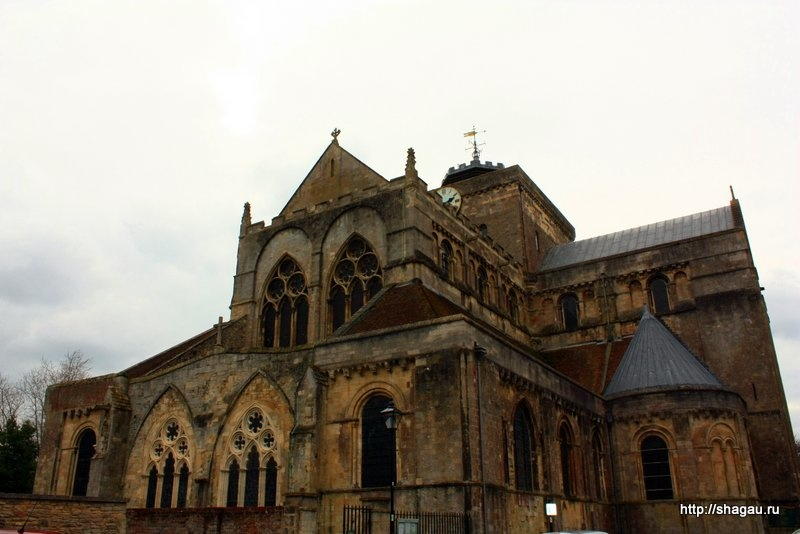 Аббатство Ромзи (Romsey Abbey)