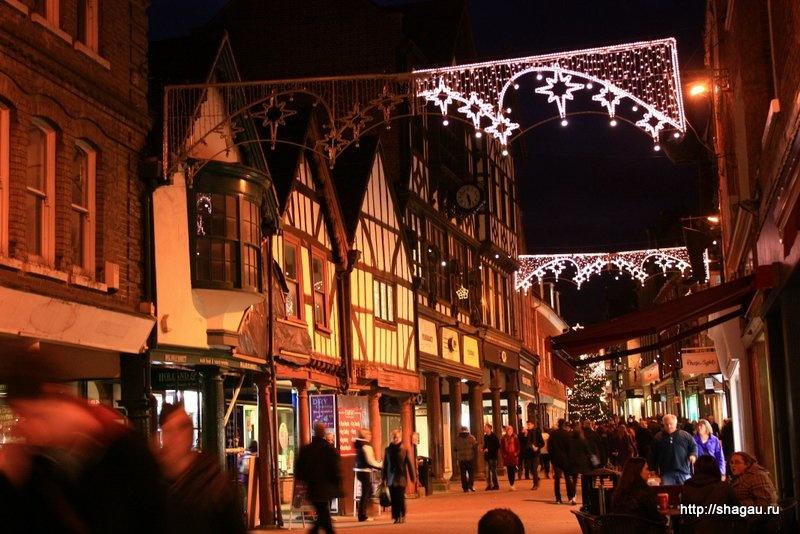 Рождественский рынок в Уинчестере