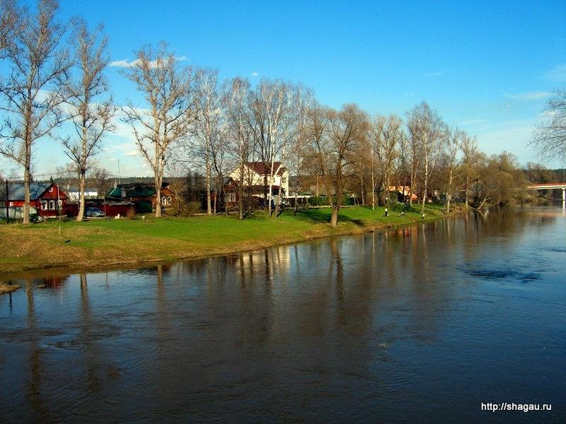 Берега реки Протвы