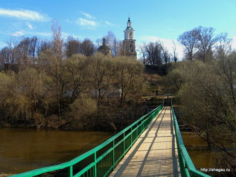 Мост через Протву, Верея в Московской области
