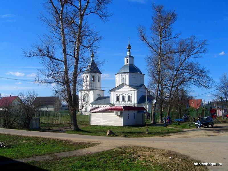Церковь Богоявления Господня (Косьмы и Дамиана) в городе Верея