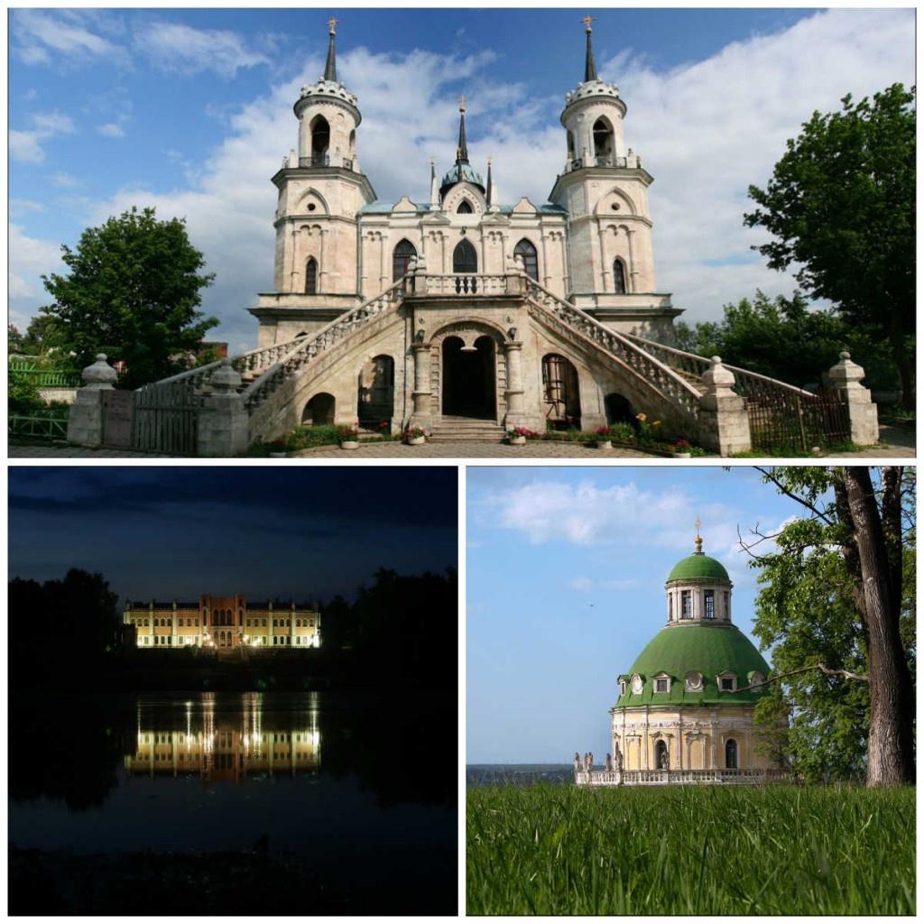 Подмосковные усадьбы и церкви