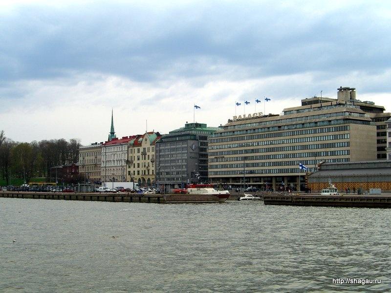 На набережной Хельсинки