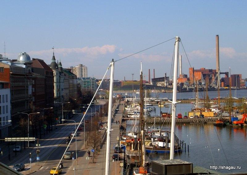 Порт города Хельсинки