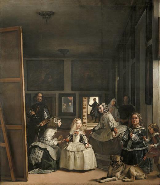 лучшие картины музея Прадо, Веласкес Менины