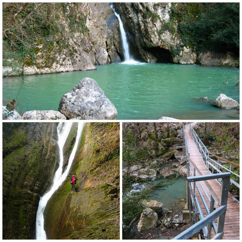 Агурские и ореховские водопады