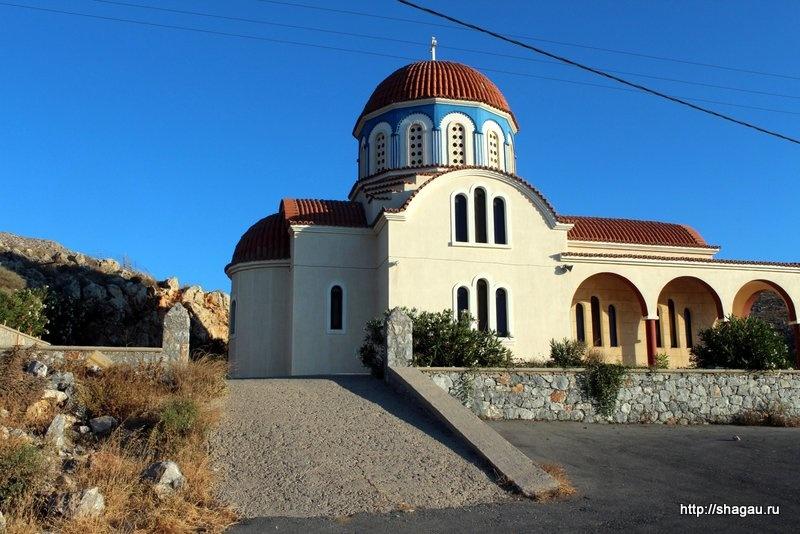 Церковь на Крите