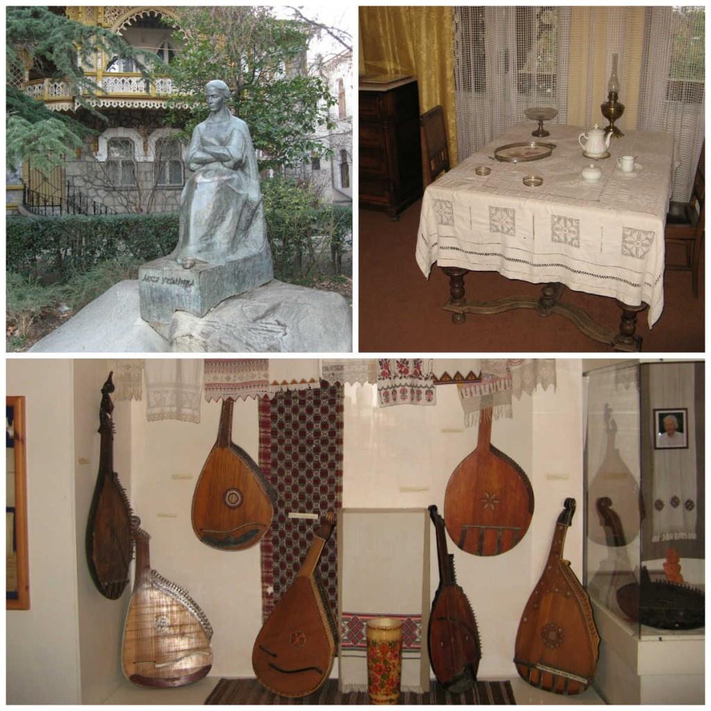 В музее Леси Украинки
