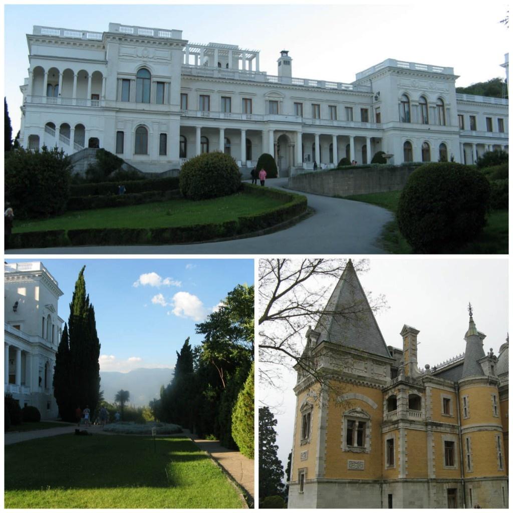 Ливадийский и Массандровский дворцы