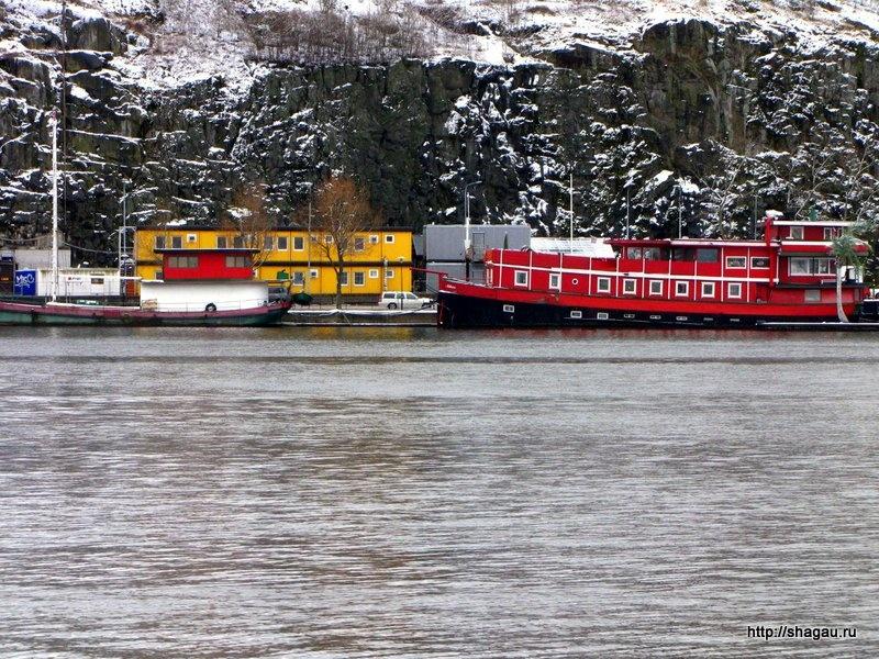 Отели-корабли в Стокгольме