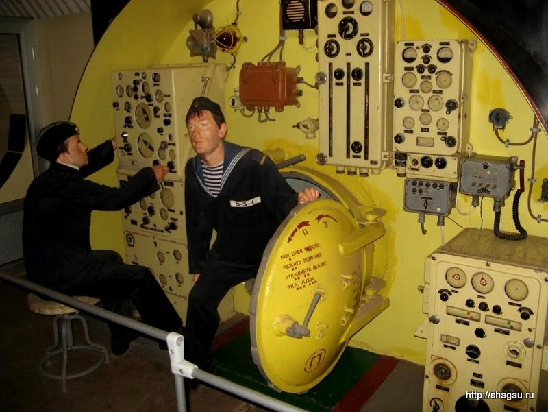 В музее подводных лодок, Балаклава