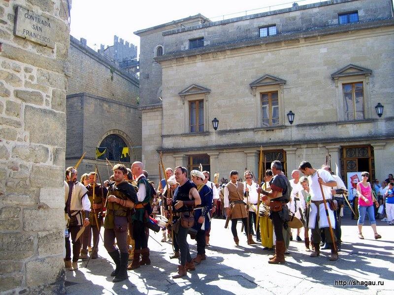 Дни средневековья в Сан-Марино