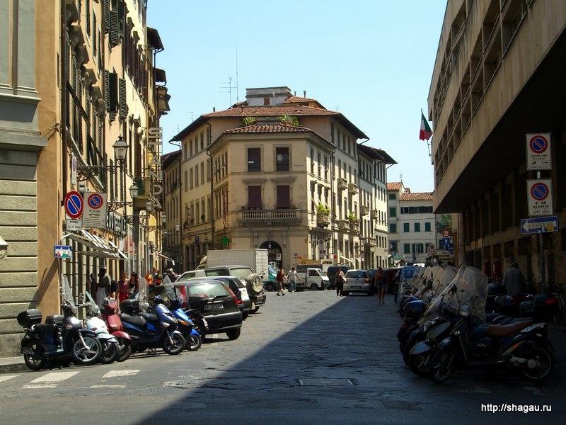 На улицах Флоренции