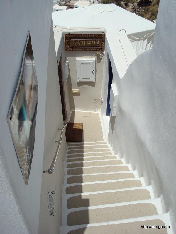 Белые улицы Санторини