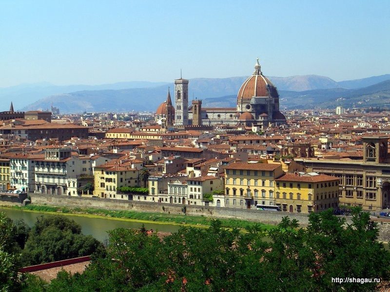 Вид на Флоренцию