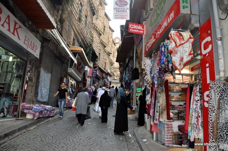 Покупательницы на Египетском базаре