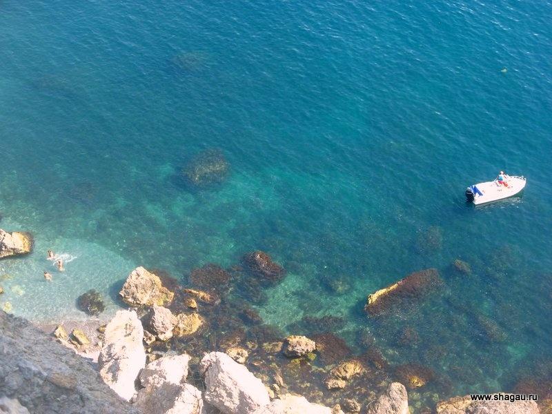 Дикие пляжи Нового Света в Крыму