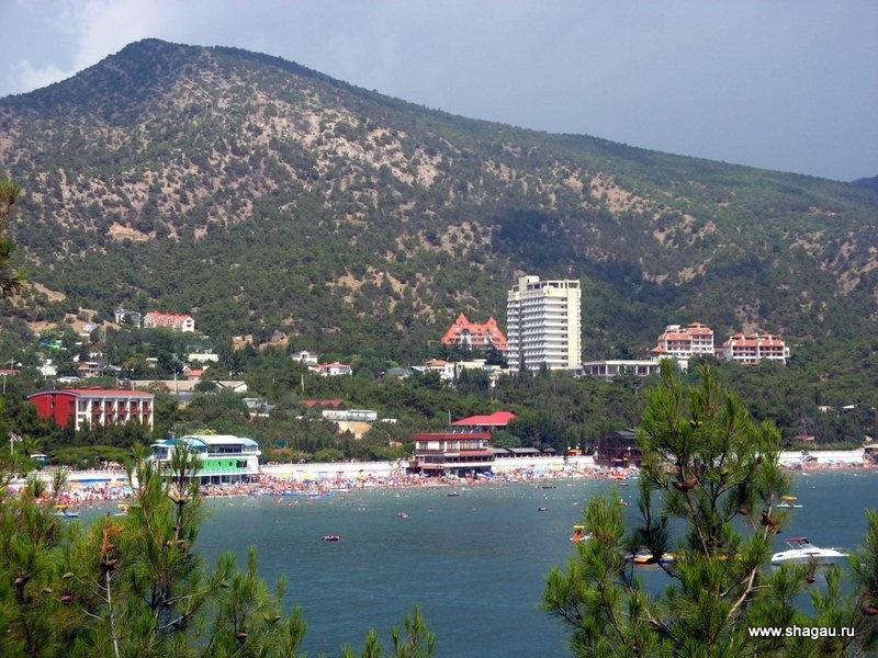 Главный пляж в Новом Свете