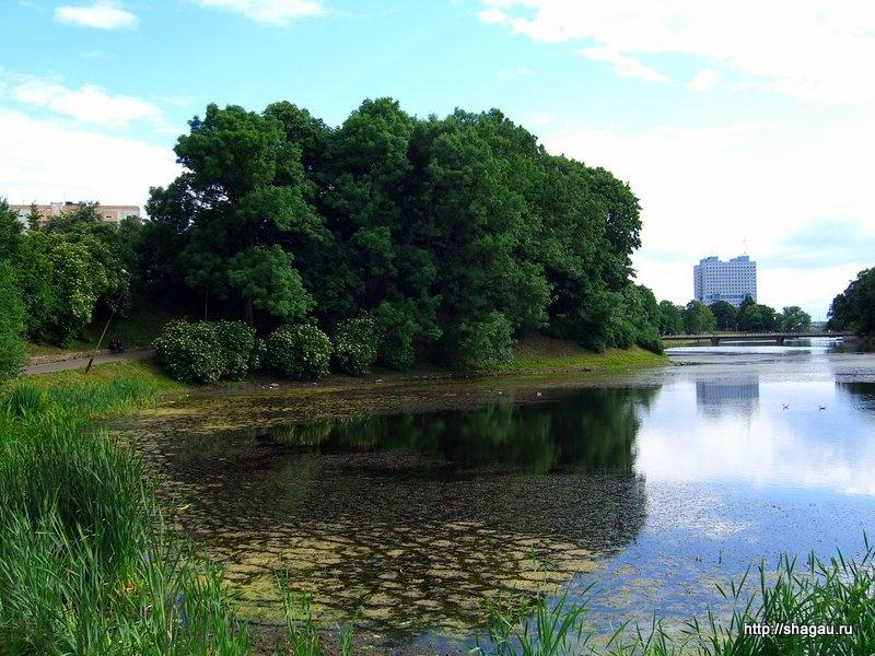 Нижний пруд в Калининграде