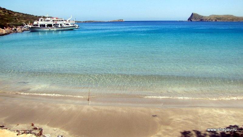 Пляж-баунти на Крите
