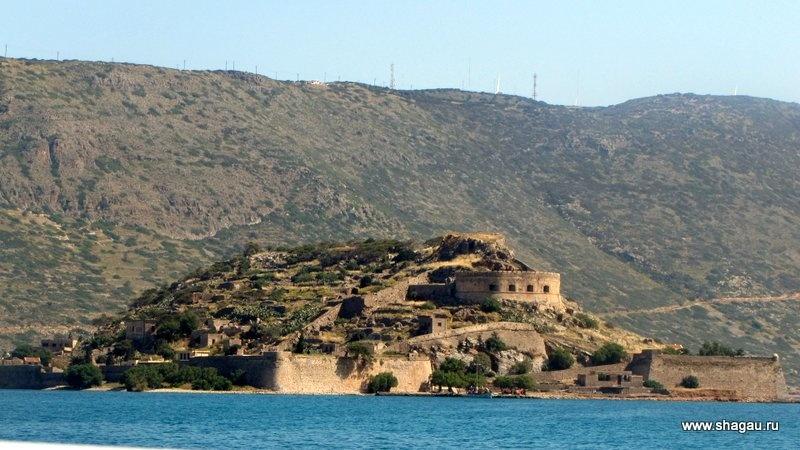 Остро-крепость Спиналонга