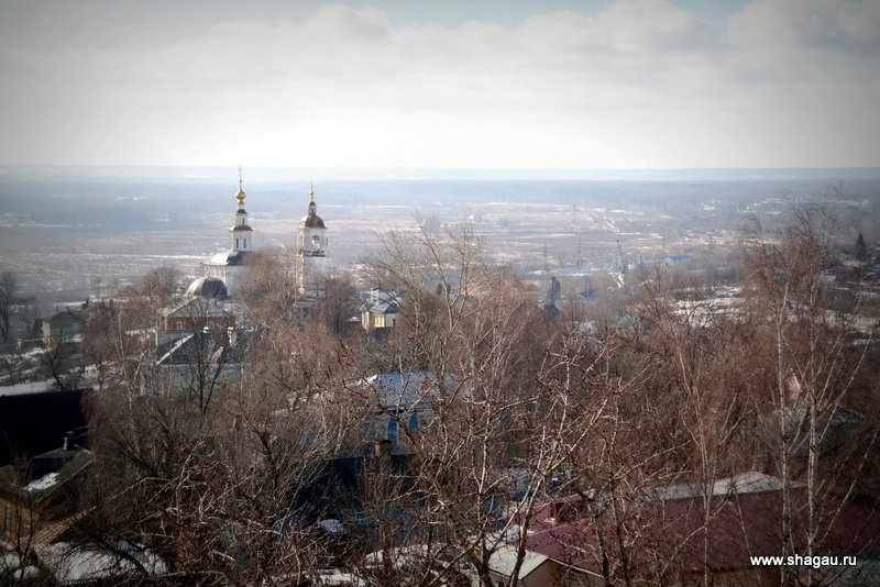 Смотровая площадка во Владимире