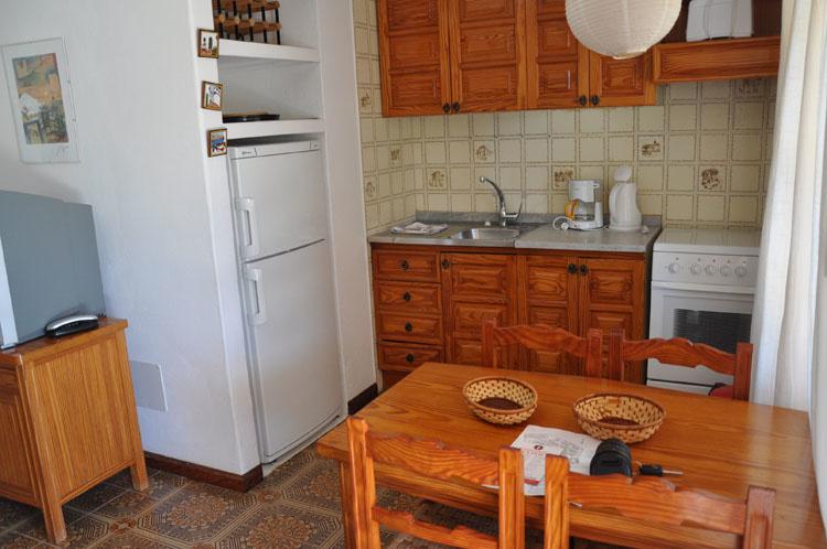 Villa Casas Del Sol кухня