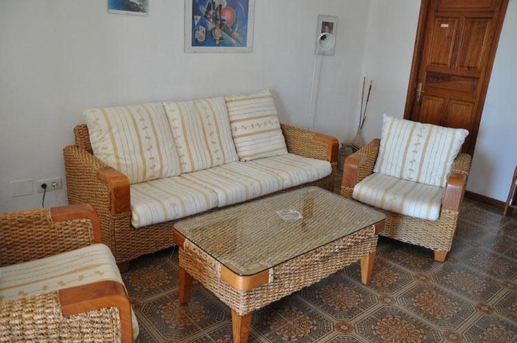 Villa Casas Del Sol гостиная