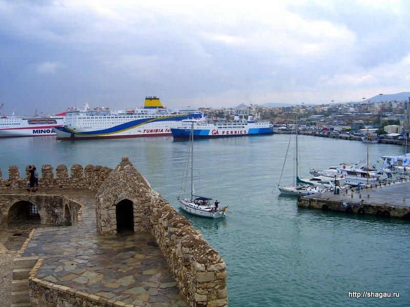 Вид с крепости Кулес