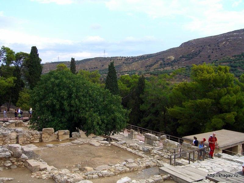 Развалины Кносского Дворца на Крите
