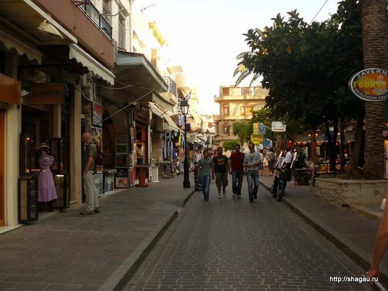 На улицах Ретимно