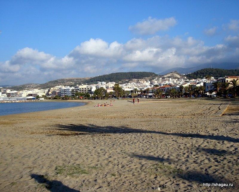 Пляжи Ретимно