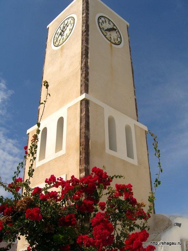 Часовая башня в Ия