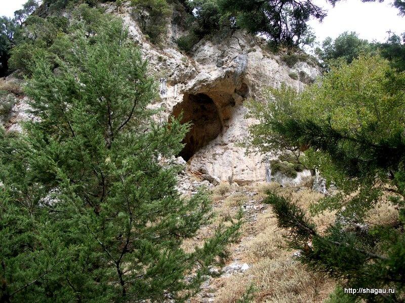 В ущелье Самария, Крит