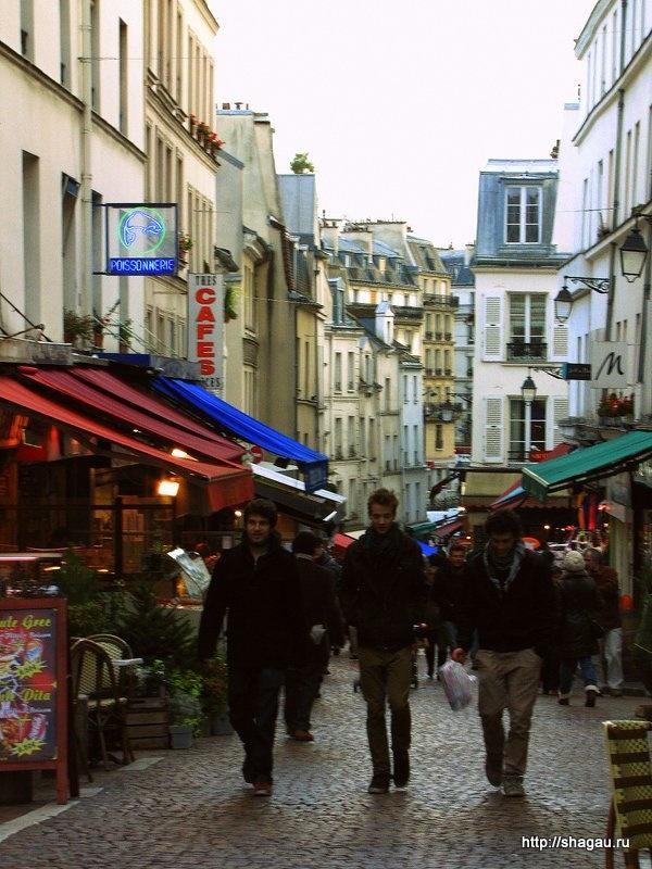 Один из рынков Парижа, на котором делала покупки Амели