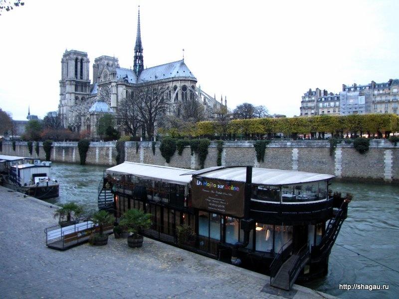 Здесь снимался фильм Кухня в Париже