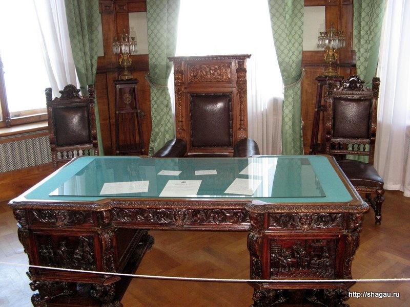 Интерьеры Ливадийского дворца