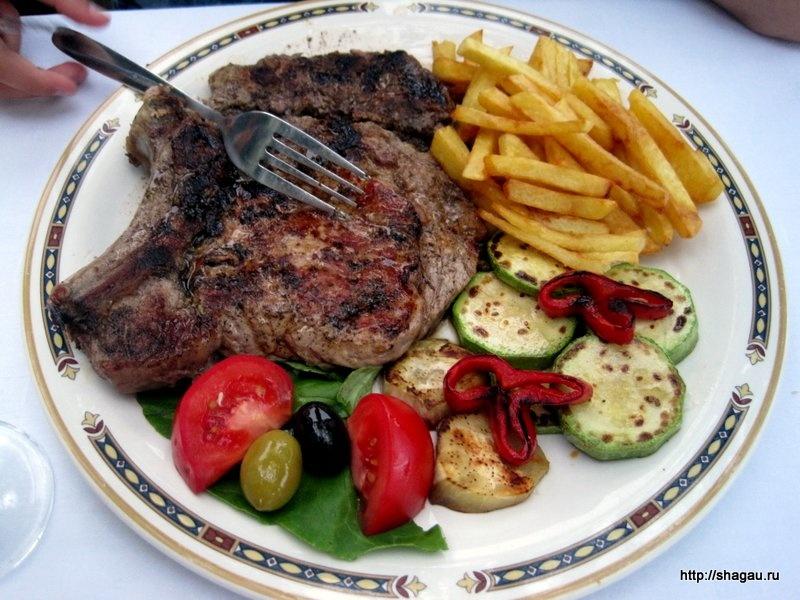 Мясные блюда Черногории
