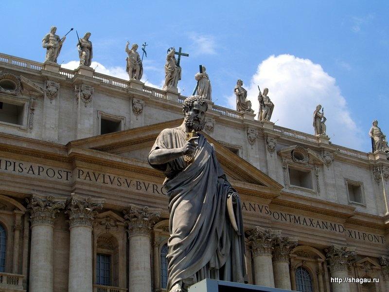 Перед собором Святого Петра