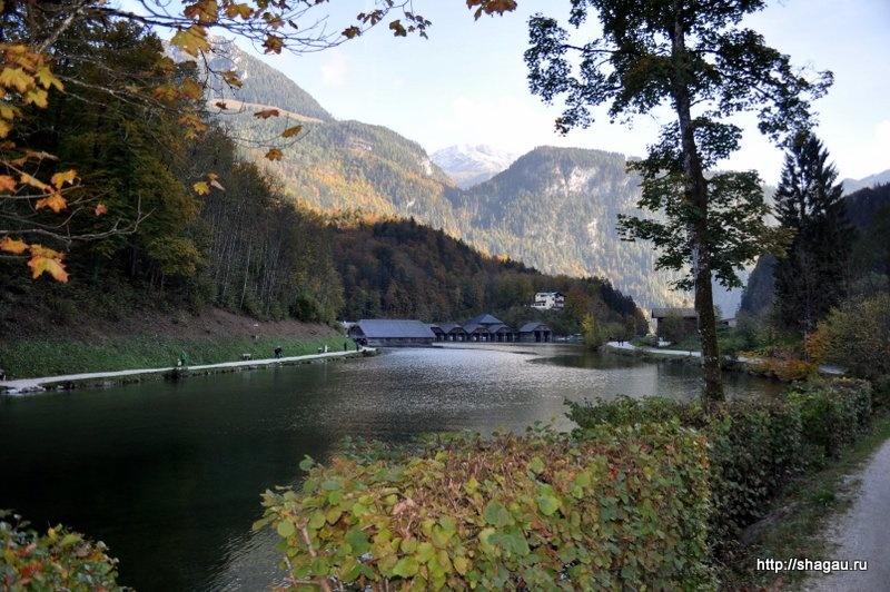 Королевское озеро в Баварии