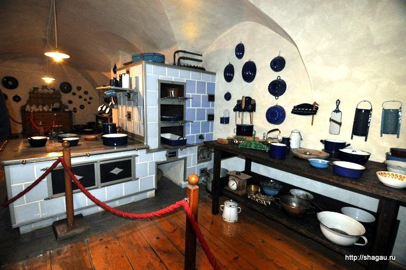 В кухне замка Херберштайн