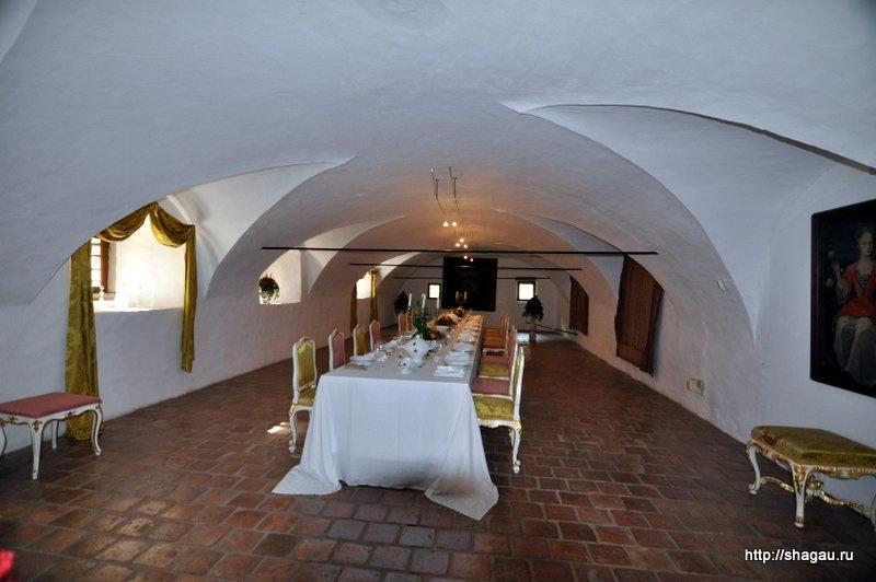Столовая замка Херберштайн